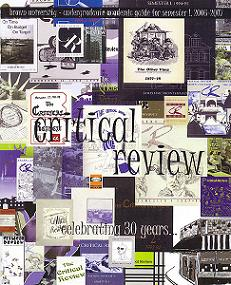 Critical Review 30th Anniversary Magazine